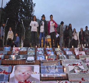 [En imágenes] ¿Dónde Están? El Movice en la semana internacional del Detenido-desaparecido
