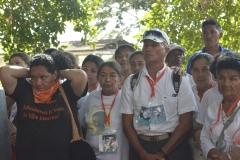 Acto simbólico en la Finca El Palmar (San Onofre)