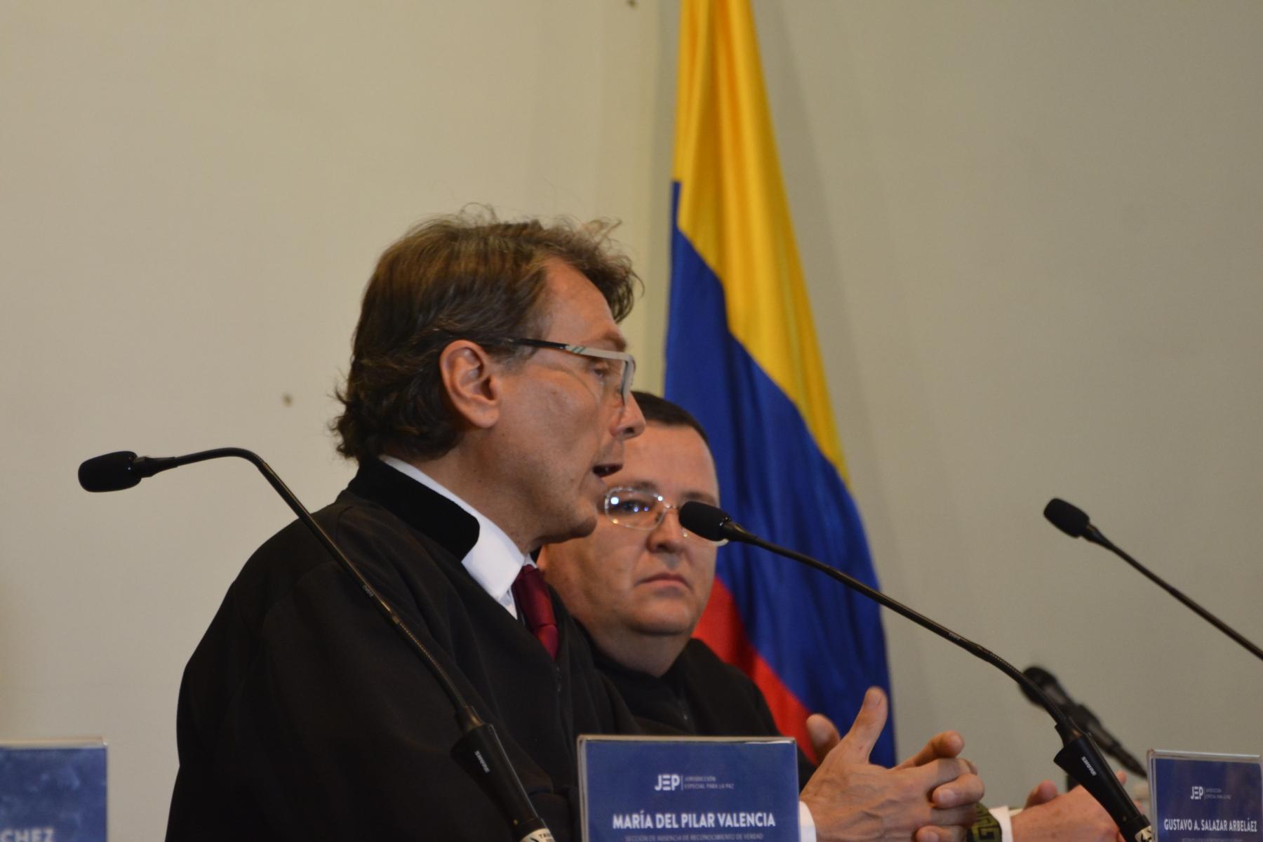 Magistrado Gustavo Salazar