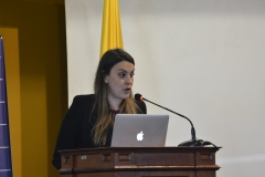 Diana Arango. Intervención de EQUITAS.
