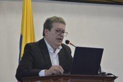 Alirio Uribe, abogado del Colectivo de Abogados José Alvear Restrepo.