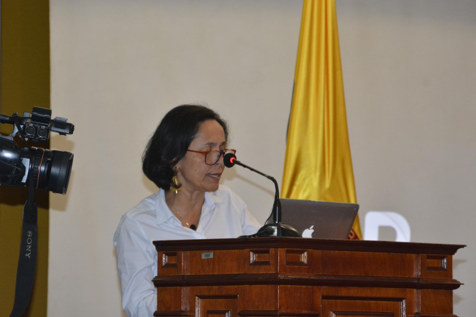 Intervención de Luz Marina Monzón, directora de la Unidad de Búsqueda de Personas dadas por Desaparecidas.