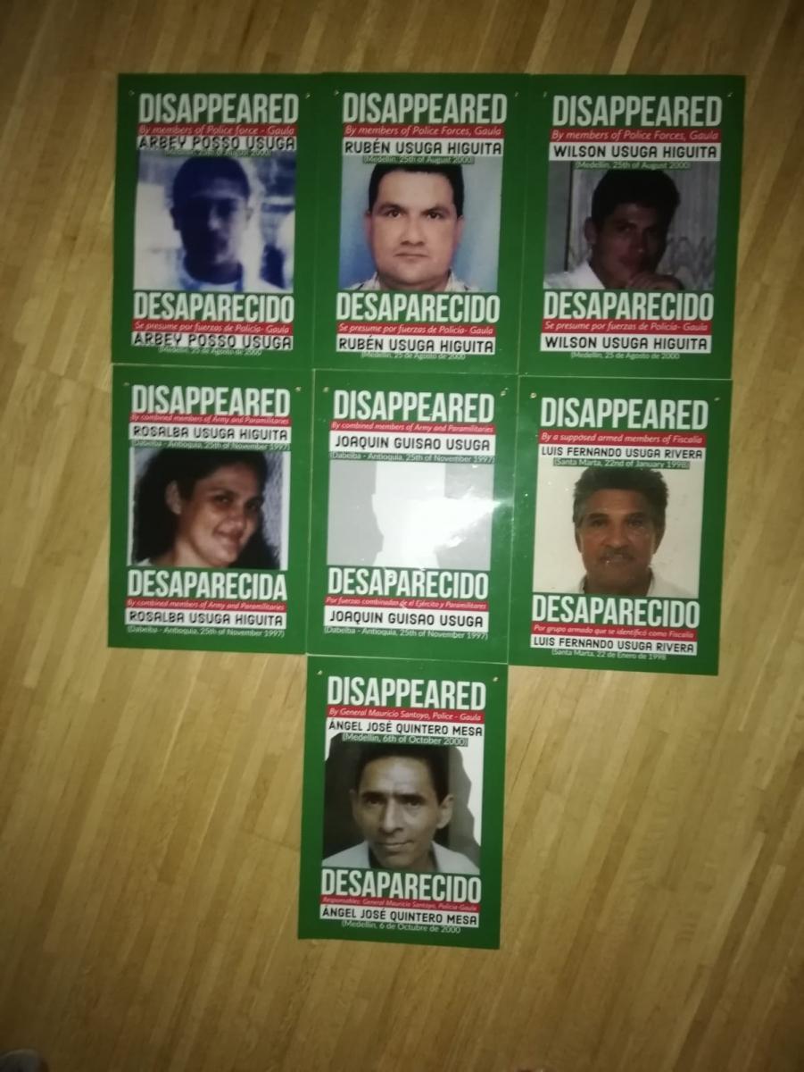 Grupo Europa de Familiares de personas Desaparecidas en Colombia.