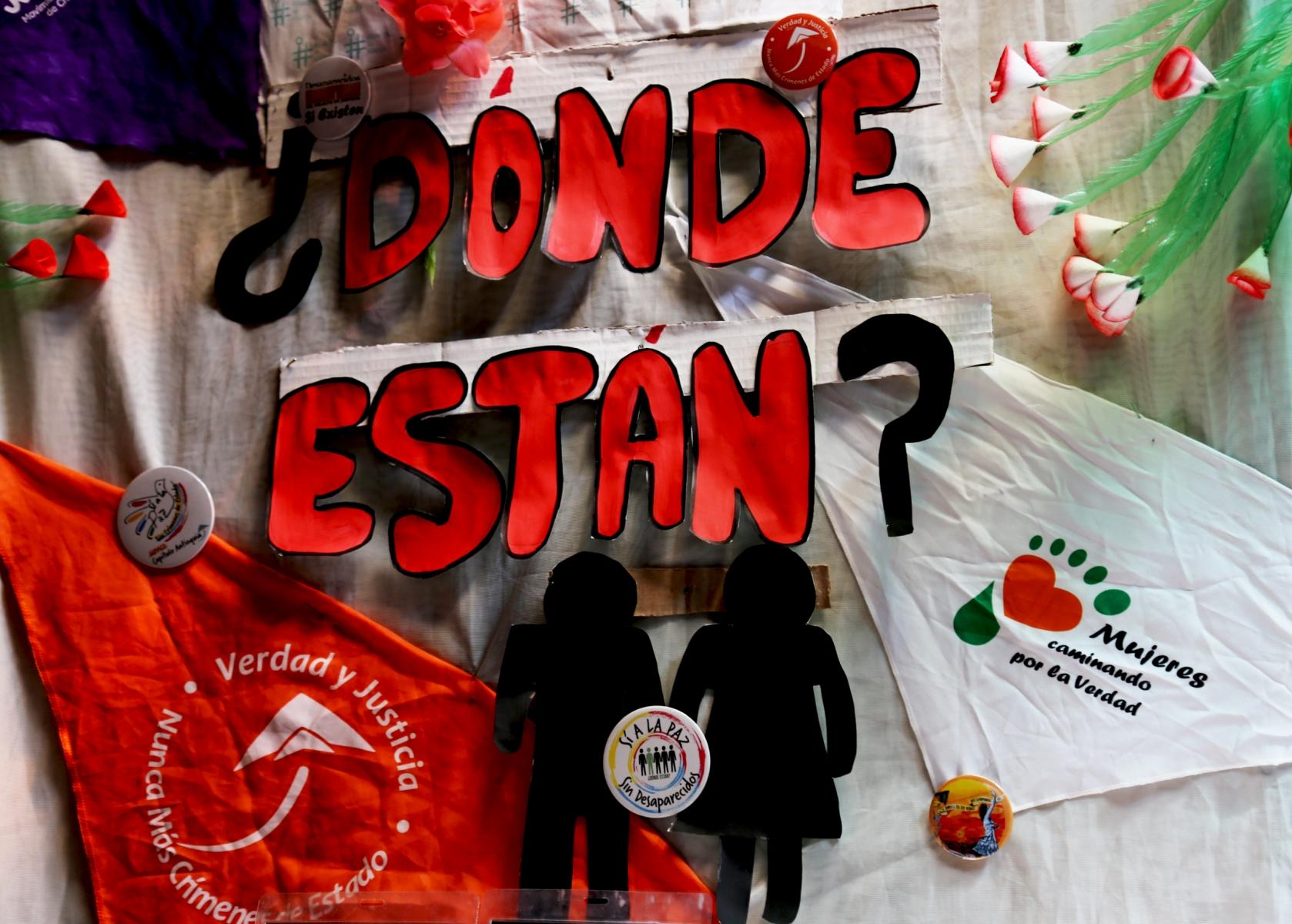 Rosa Edelmira Vergara Martínez: Desaparecida el 30 de Enero de 1993 en Cáceres - Antioquia.  Jhonairo Alexander Vergara Urango: Desaparecido el 12 de enero de 2001 en Caucasia – Antioquia.