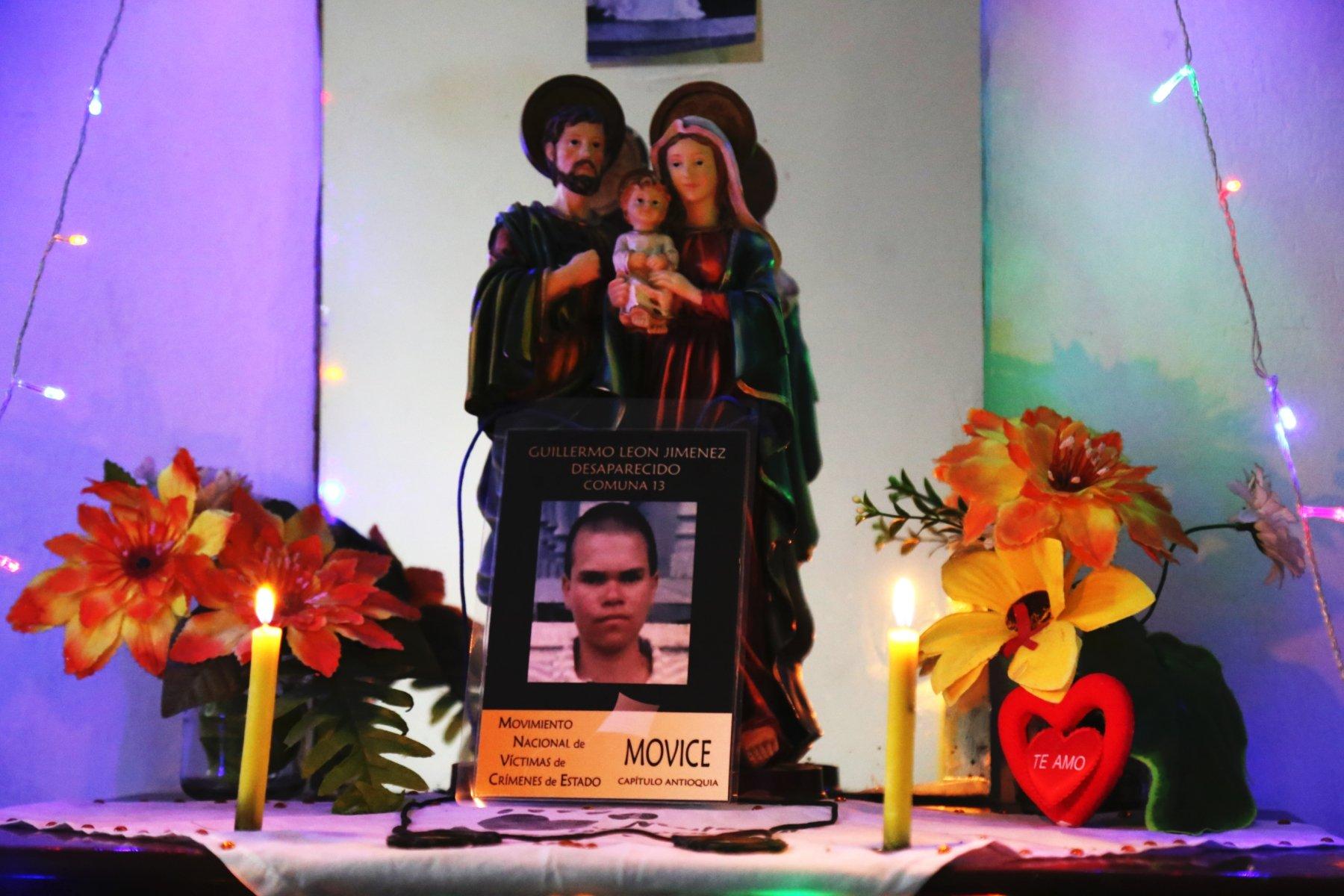 Guillermo León Jiménez: Desaparecido en la Comuna 13 de Medellín