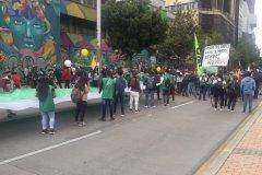 Movilización Movice 21 de octubre #Minga2020 #ParoNacional