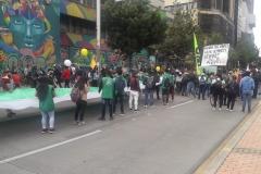 Minga y Paro Nacional, Bogotá