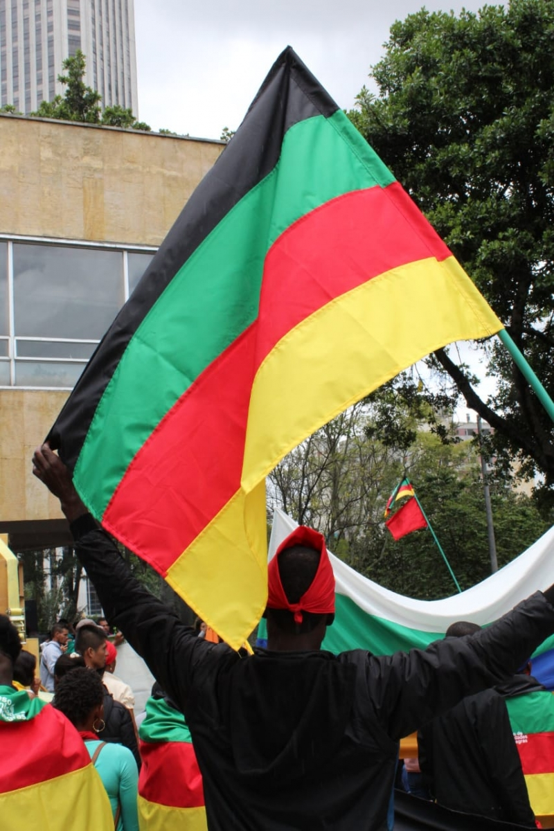 comunidades afro en el Refugio Humanitario por la vida