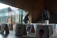 Video intalación Volver a pasar por el corazón, Centro de Memoria Paz y Reconciliación, Bogotá