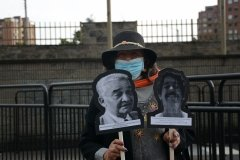 Plantón por nuestros desaparecidos, Bogotá
