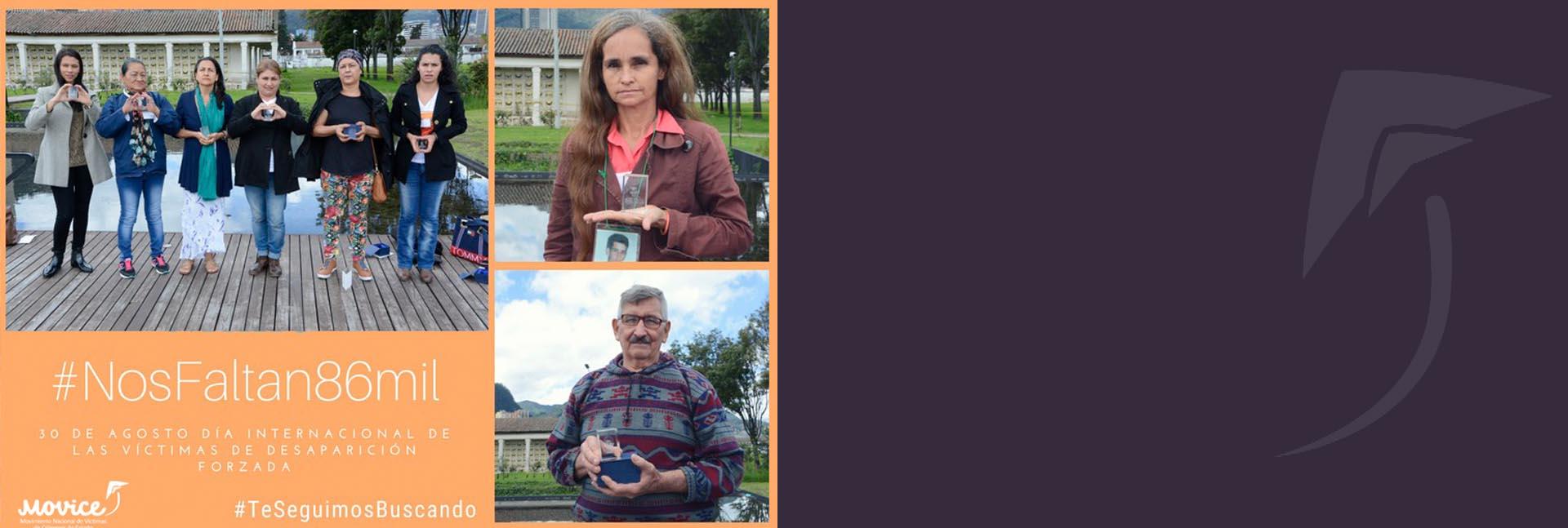 El Estado debe buscar ya a las personas desaparecidas, la verdad se encuentra en riesgo