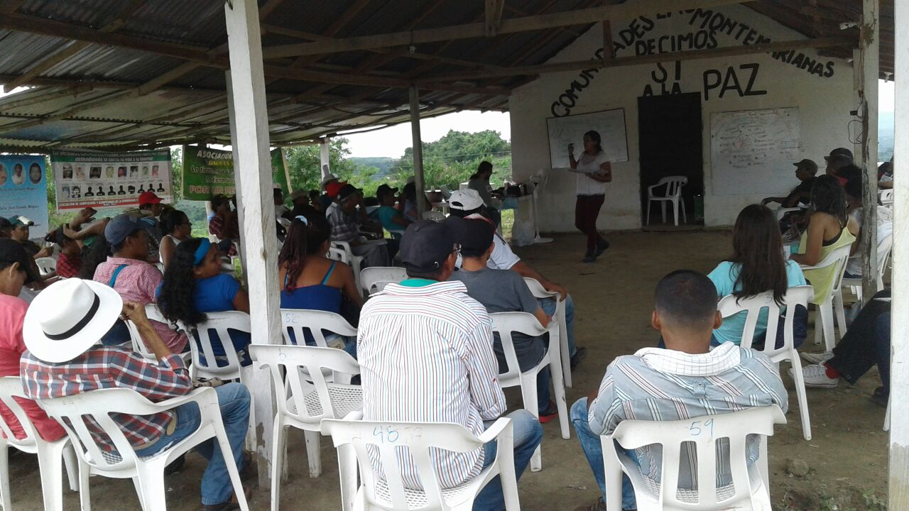 Denuncia por grave riesgo de la vida de líderes de Montes de María