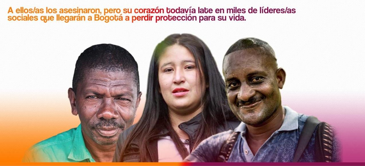 Las Víctimas de Crímenes de Estado presentes en el Refugio Humanitario por la vida