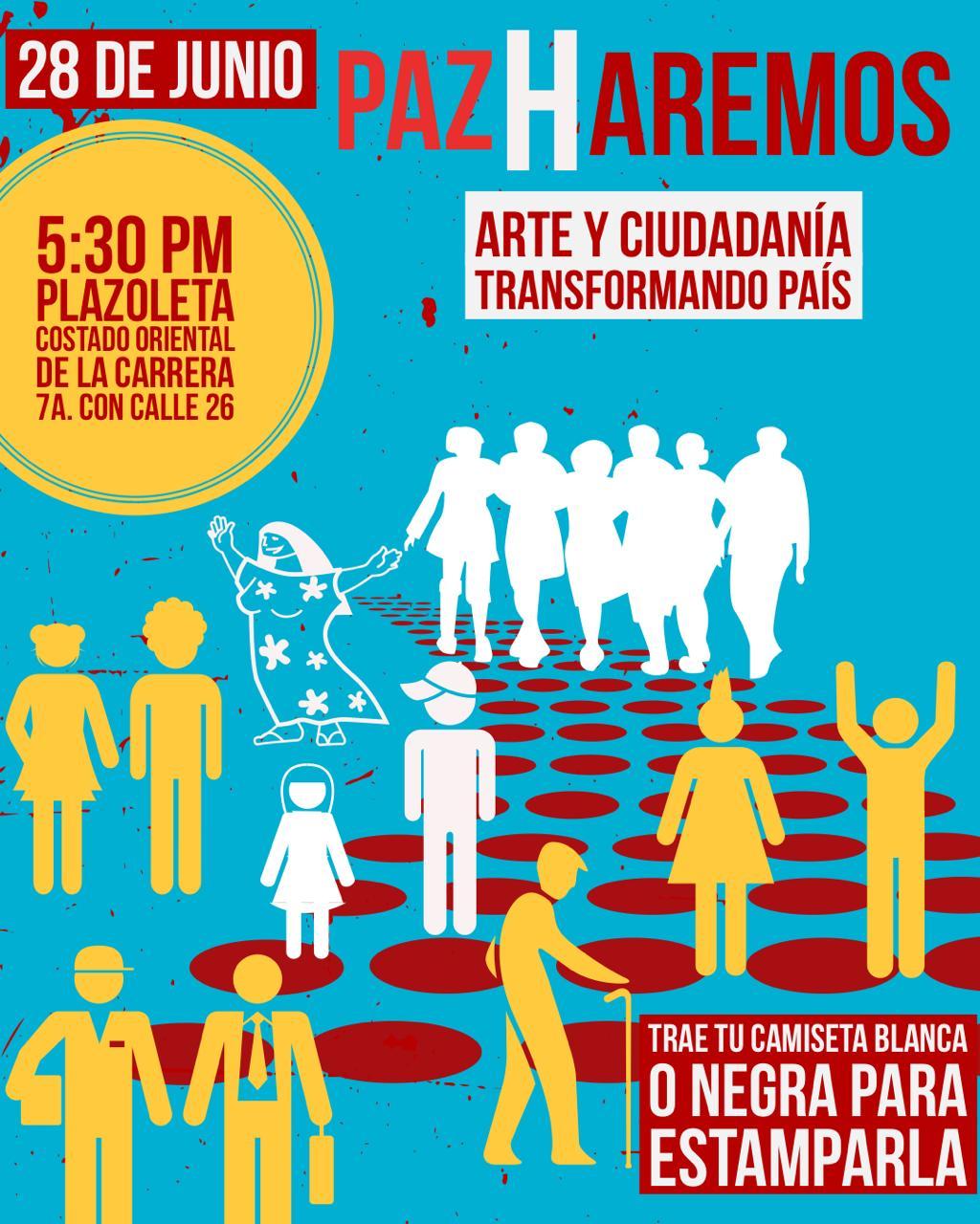 Paz Haremos: arte y ciudadanía transformando país