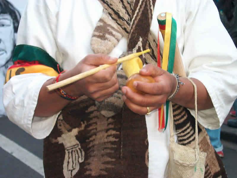 La Asociación de Víctimas Indígenas de Bogotá exige garantías al Estado