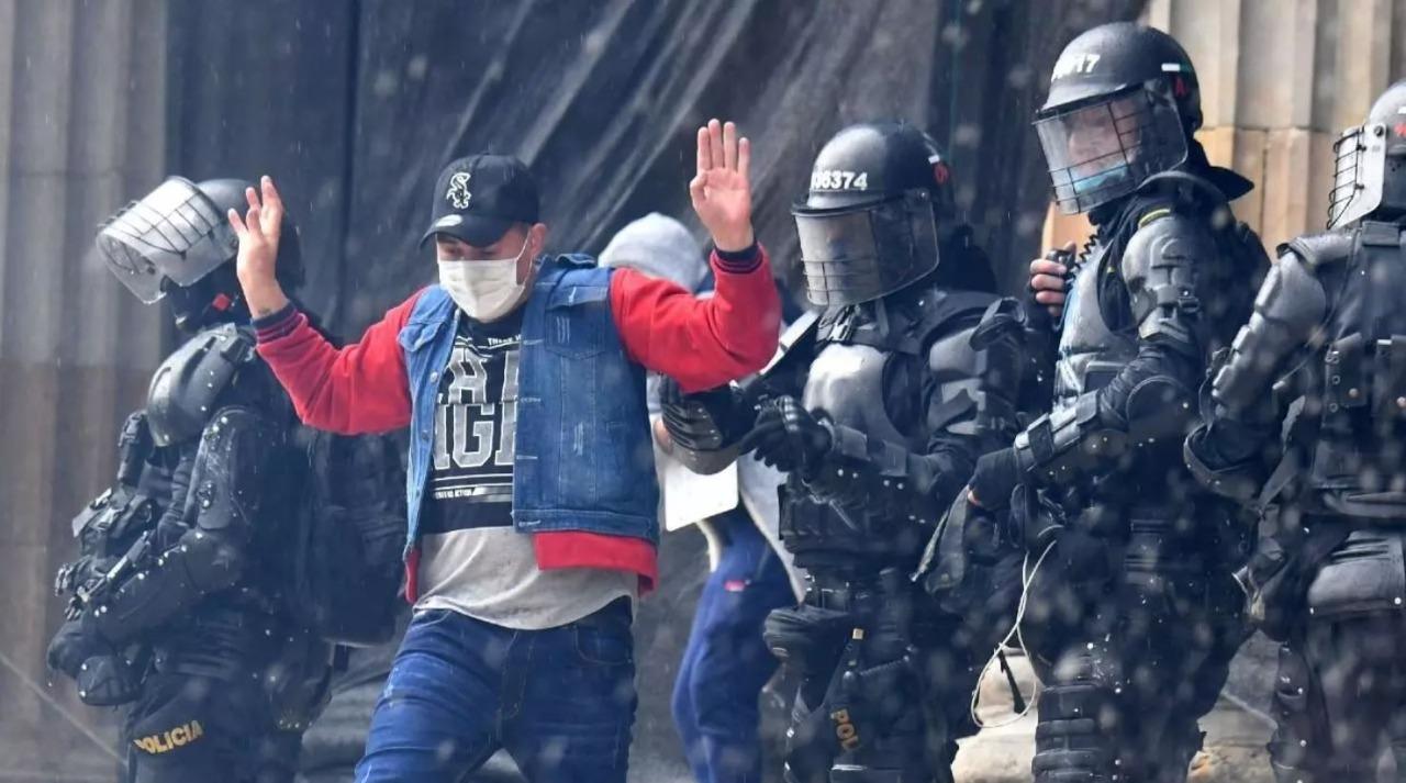 Denuncia pública detenciones en Cali durante jornadas de manifestación del 20 de julio